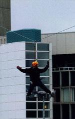 Zip Wire for Linda McCartney Centre